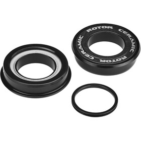 Rotor Press Fit 4124 Axe de pédalier Céramique Road BB86, MTB BB89 / BB92 24 mm, black